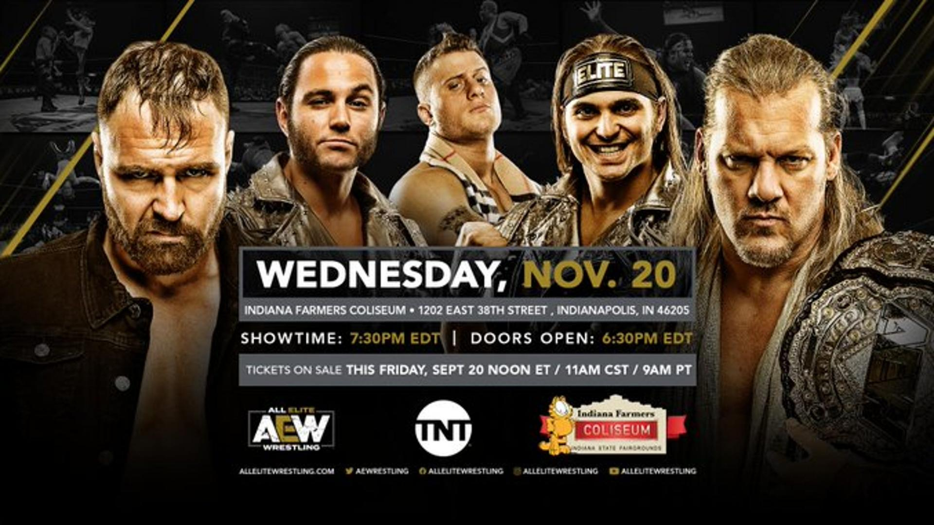 More Matches for AEW World Title Revealed