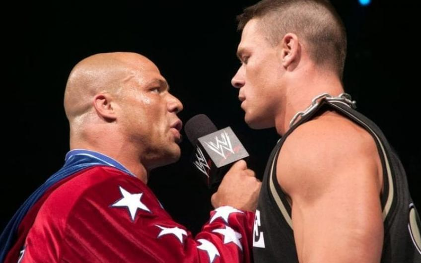 Kurt Angle throws feelers about his comeback after John Cena's return