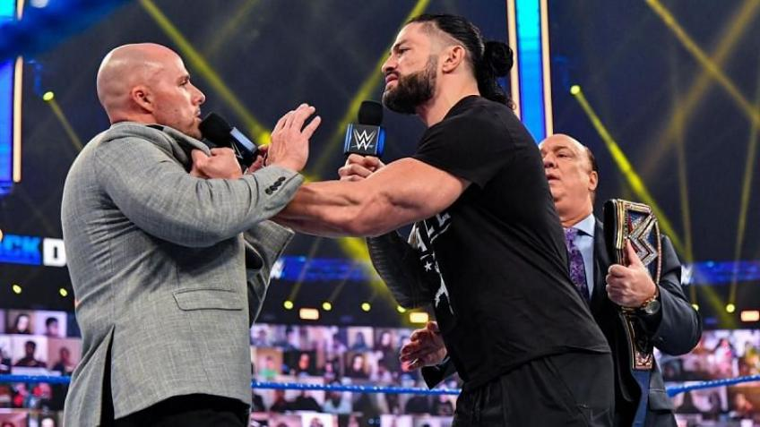 Adam Pearce wants to have another go at Roman Reigns