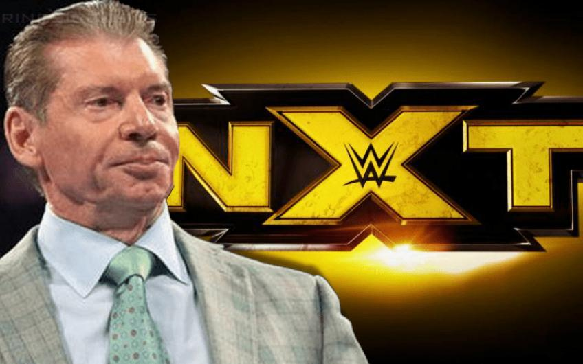 Vince McMahon changes his mind about calls from NXT