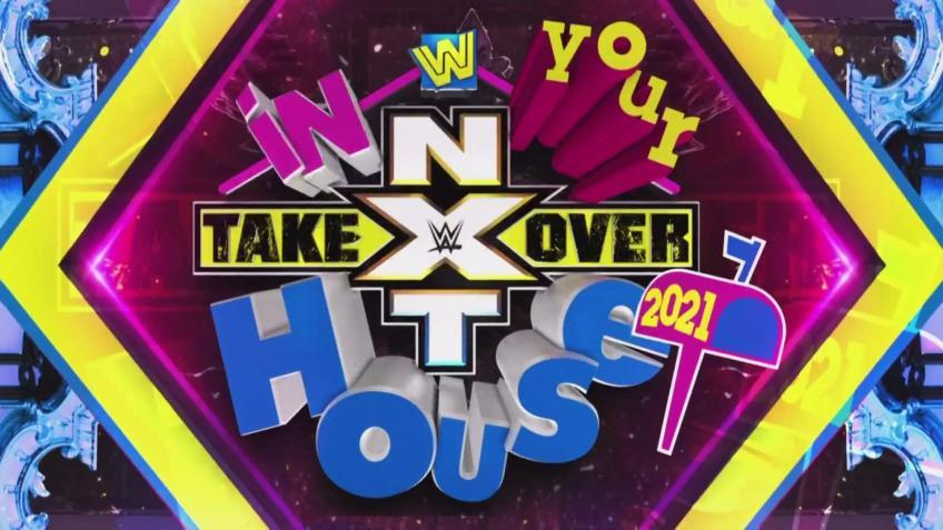 NXT TakeOver: In Your House - Official card