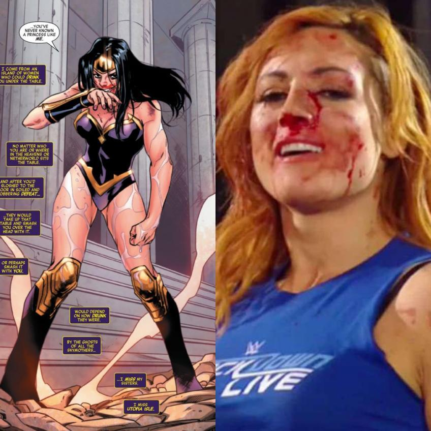 Marvel pays tribute to Becky Lynch