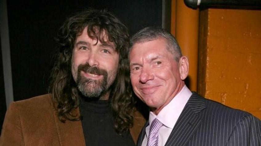 Mick Foley was embarrassed after his last WWE match