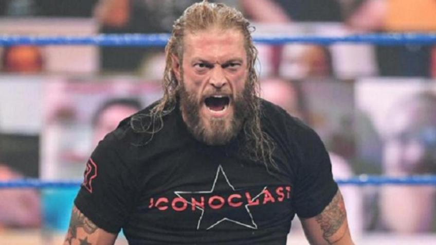 Edge is set to face Roman Reigns next week