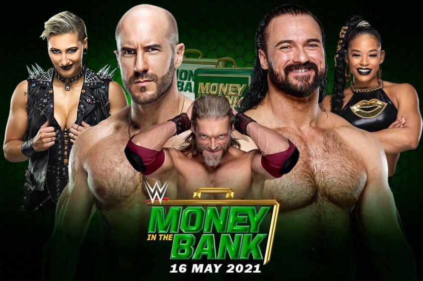 Latest news on 2021 Money in the Bank card