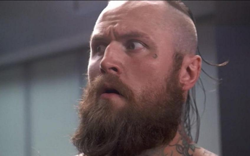Aleister Black recalls an episode from his WWE time