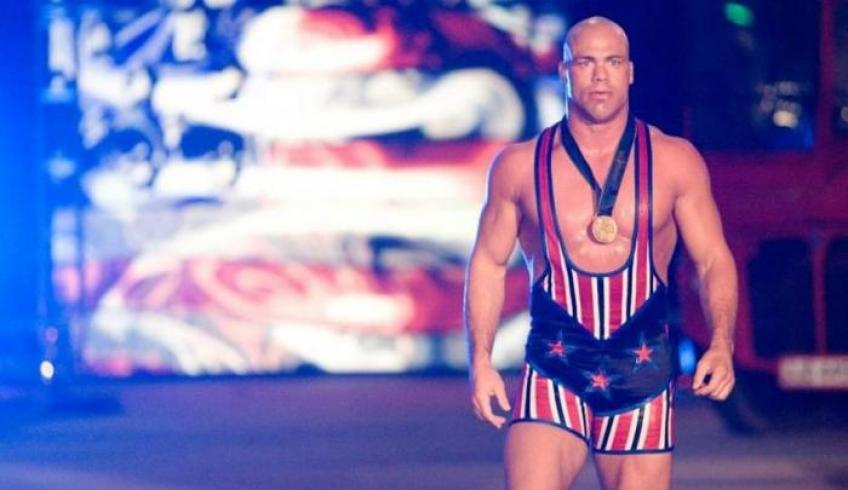 Kurt Angle reveals how much he earned in his first year in WWE