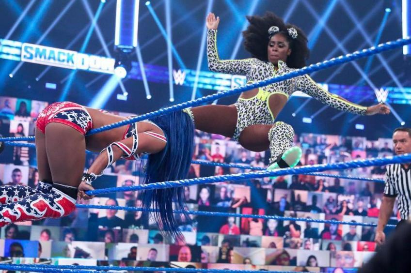 Naomi has been moved to WWE SmackDown