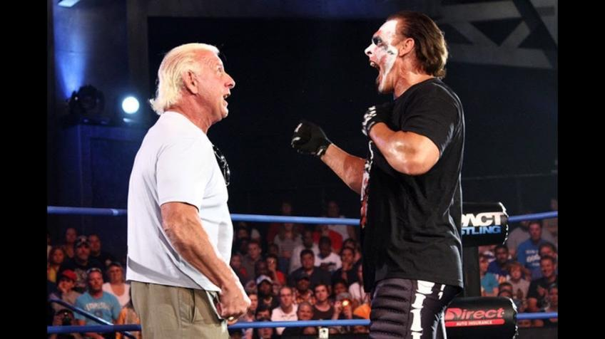 Sting comments on Ric Flair's release