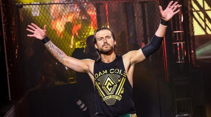 Adam Cole was backstage at the most recent...