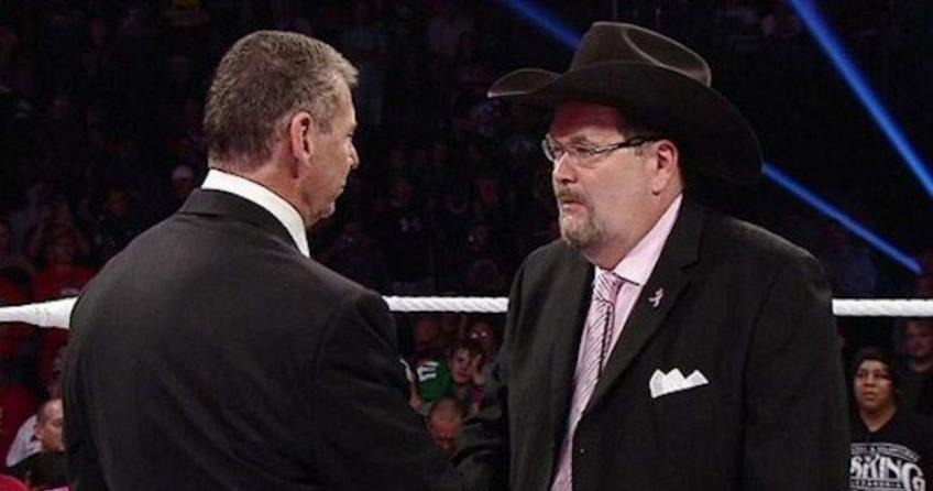 Jim Ross describes his relationship with Vince McMahon