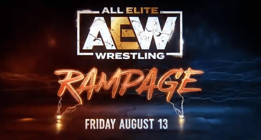 The official AEW Rampage card announced
