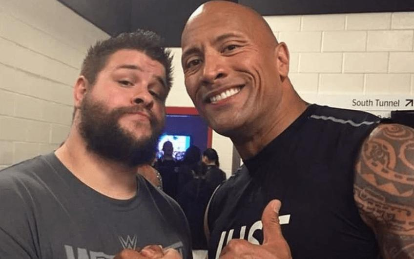 Kevin Owens pays tribute to The Rock