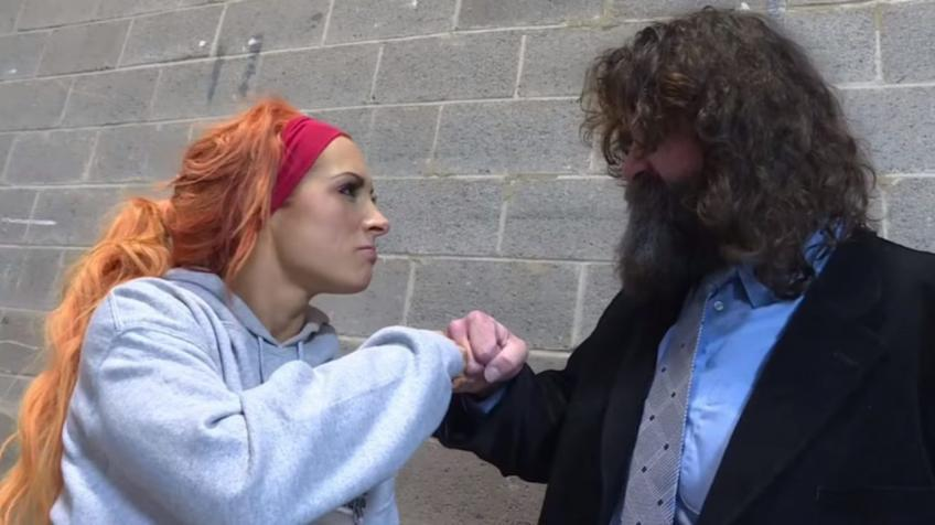 Mick Foley opens up on his friendship with Becky Lynch