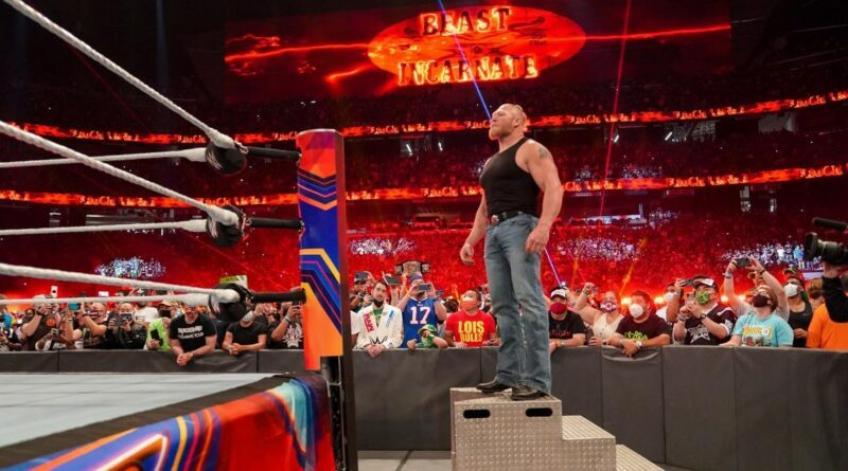 WWE has changed plans for Brock Lesnar's return