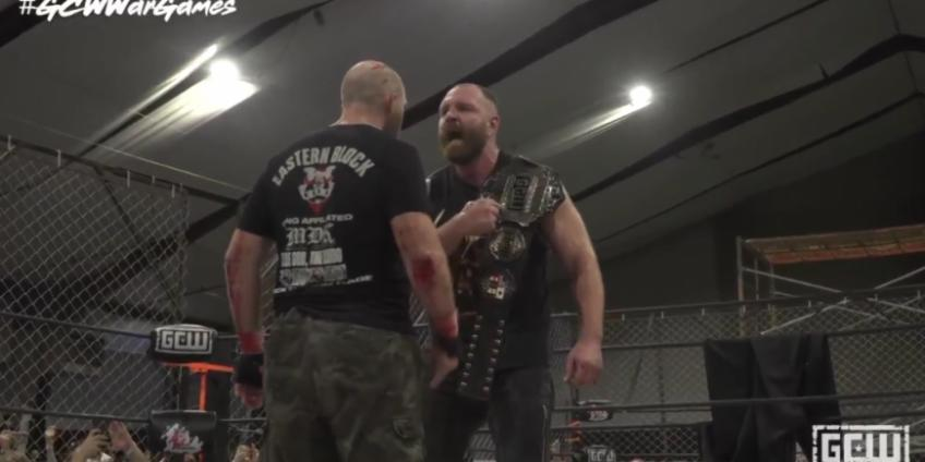 *Spoiler* Jon Moxley wins the title