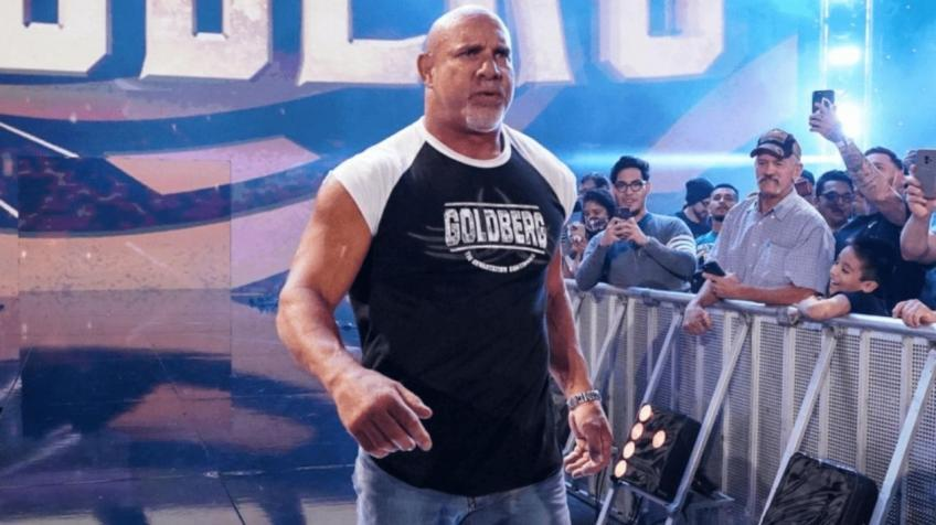 Huge WWE star was impressed by a gesture from Goldberg