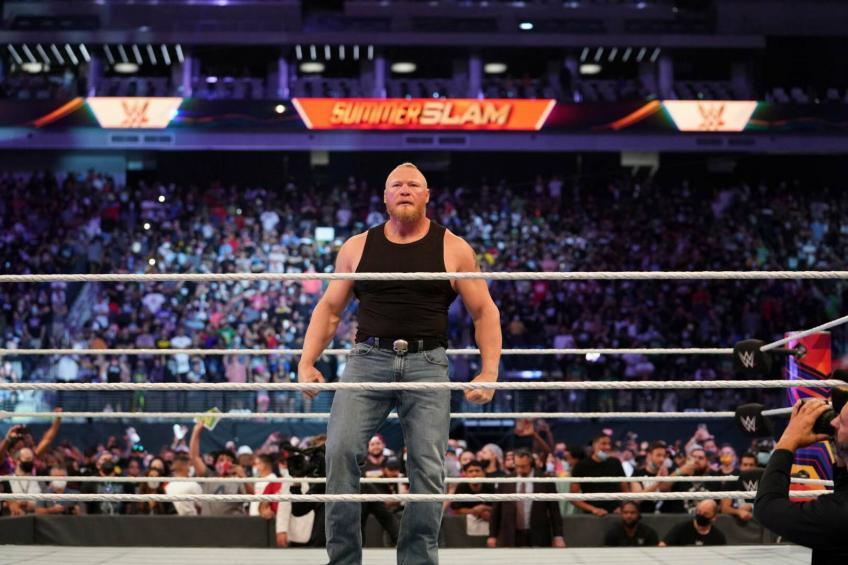 What are WWE's plans for Brock Lesnar?