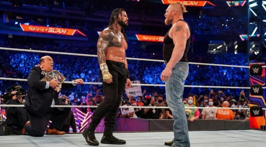 Former WWE manager praises Roman Reigns and Brock Lesnar