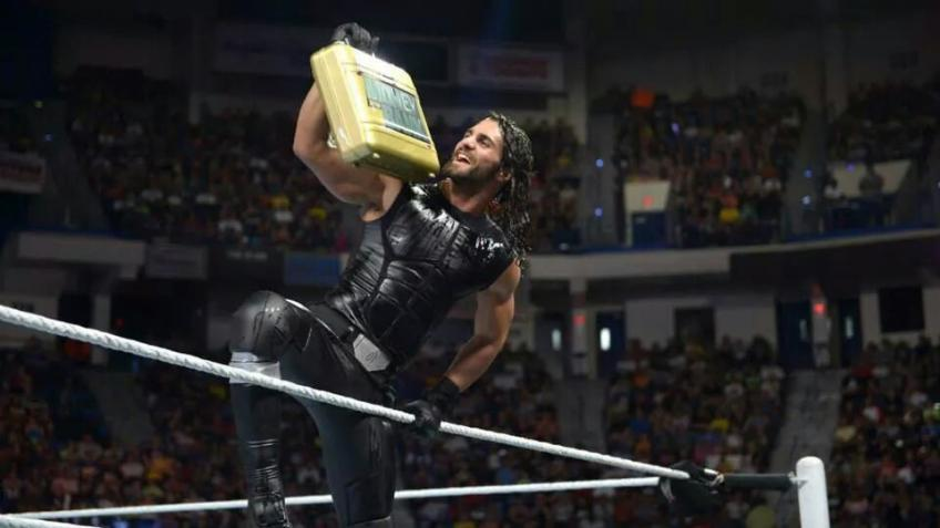 Seth Rollins recalls his cashing in Money in the Bank at WrestleMania 31