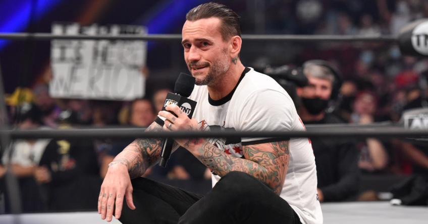 CM Punk reflects on his new role in AEW