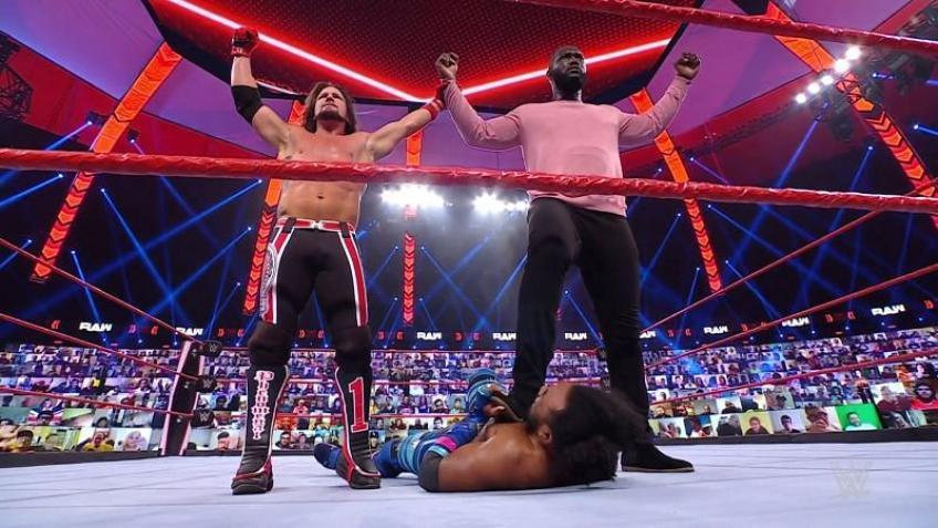 *Spoiler* Omos and AJ Styles should have split up