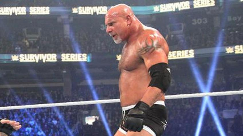Eric Bischoff is not happy with Goldberg's management