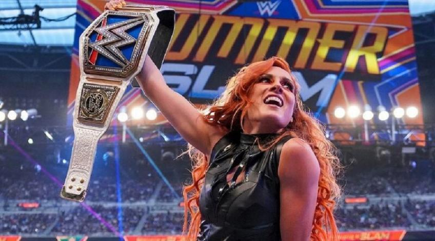 Becky Lynch is afraid of losing her title