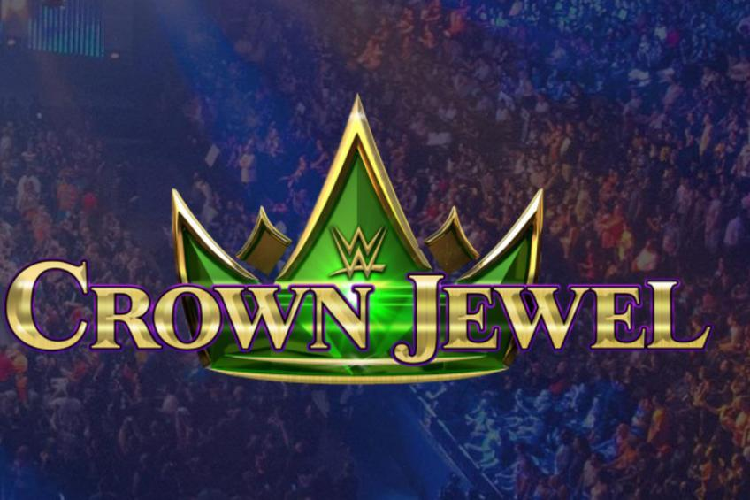 WWE Crown Jewel's stage unveiled