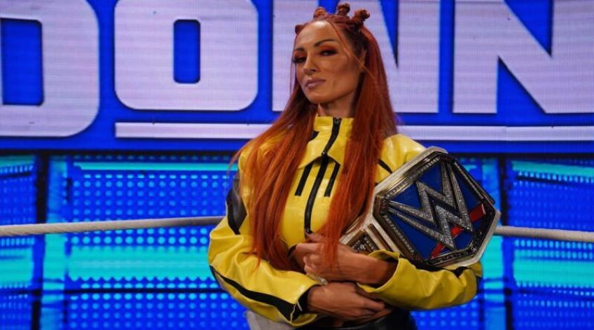 Becky Lynch wants the Crown Jewel main event