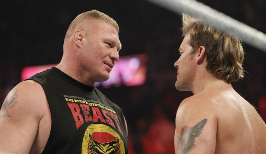 Chris Jericho: I wanna say that I respect Brock Lesnar
