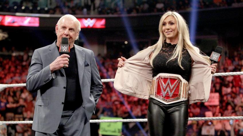 Ric Flair Thanks the WWE for Charlotte