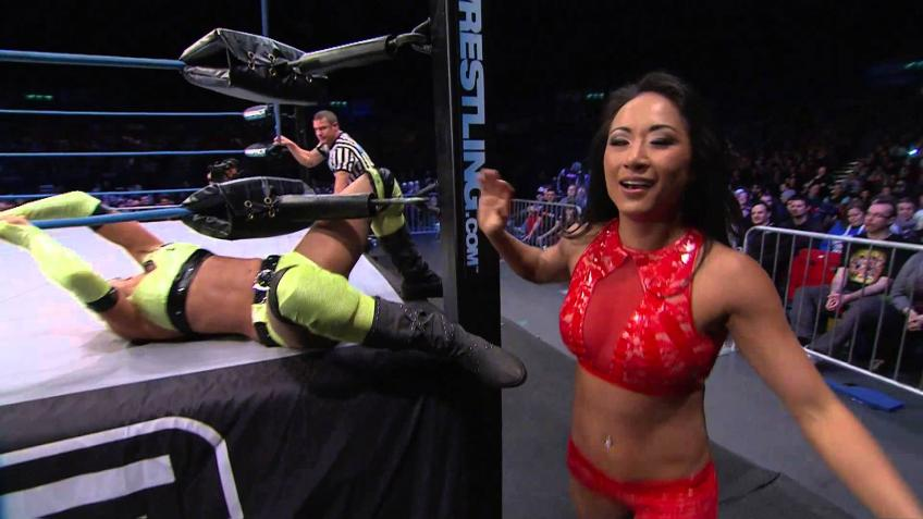 Gail Kim on Her Training