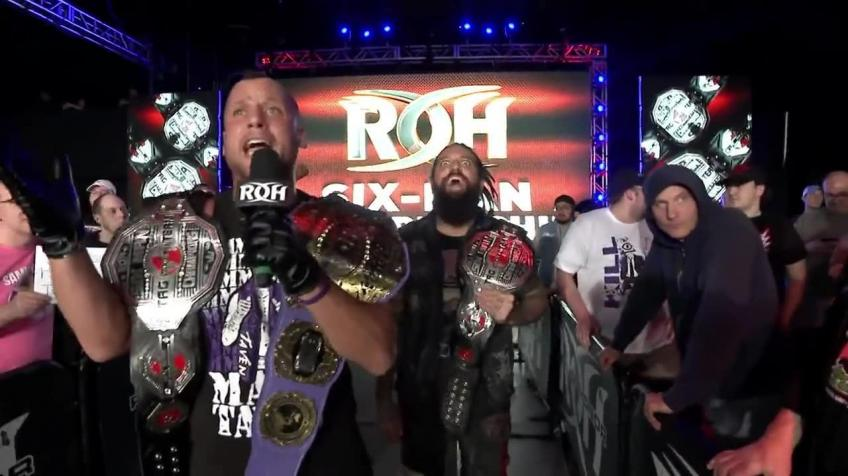 Matt Taven on Winning ROH Title