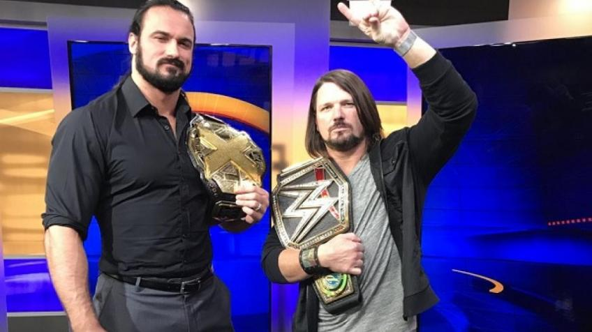 Drew McIntyre reflects on facing AJ Styles