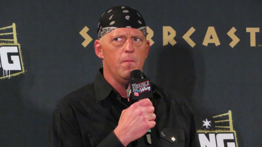 Dustin Rhodes comments on his WWE experience