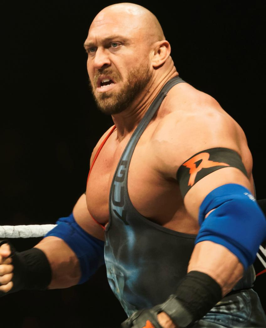 Ryback on WWE merchandize Wrestler's Share