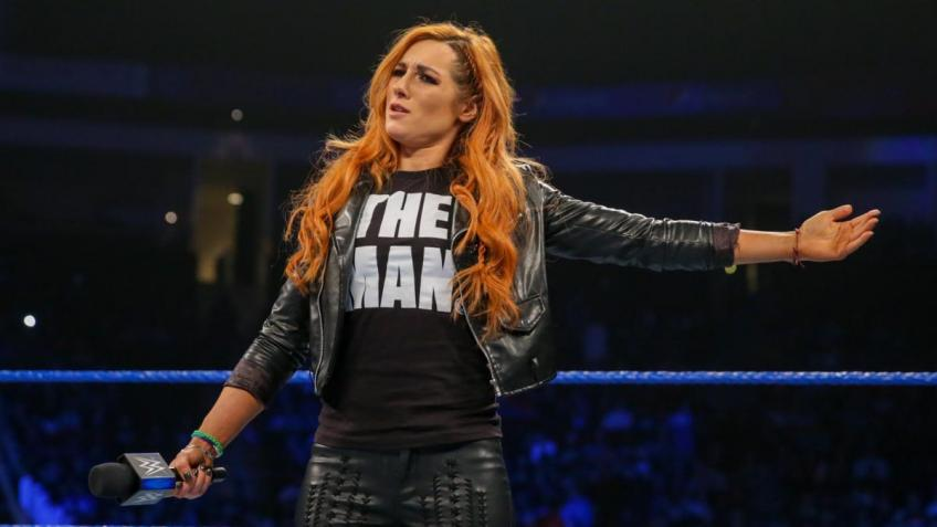 Becky Lynch On WrestleMania Main Even Campaign