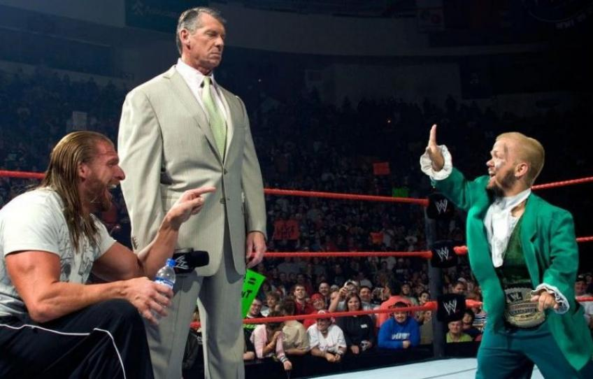 Swoggle discusses his cage match with Vince McMahon in WWE