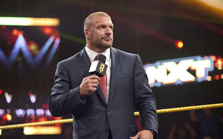 Triple H hosts a press conference after NXT Takeover: WarGames