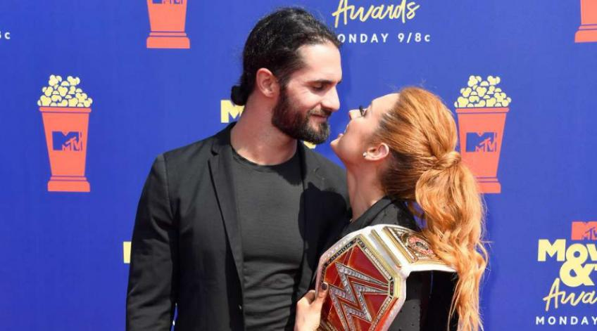 Seth Rollins on working with Becky Lynch