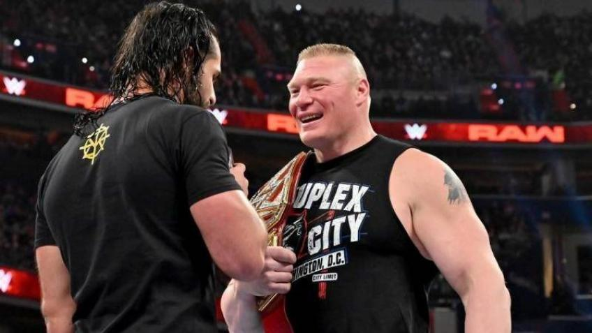 Seth Rollins: Brock Lesnar is a terrible champion