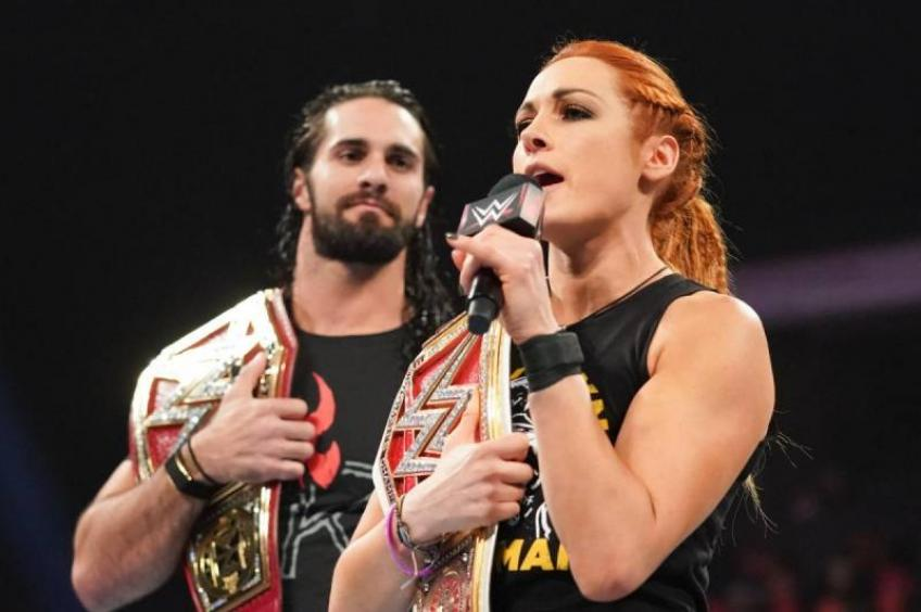 Becky Lynch on working with Seth Rollins on TV