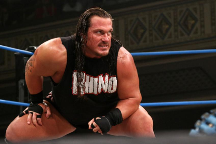 Rhyno on how his ringname was christened
