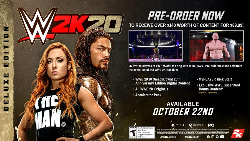 WWE 2k20 Women's Evolution Press Release