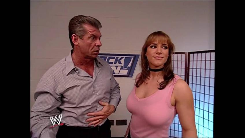 Stephanie McMahon on Sneezing in Front of Vince