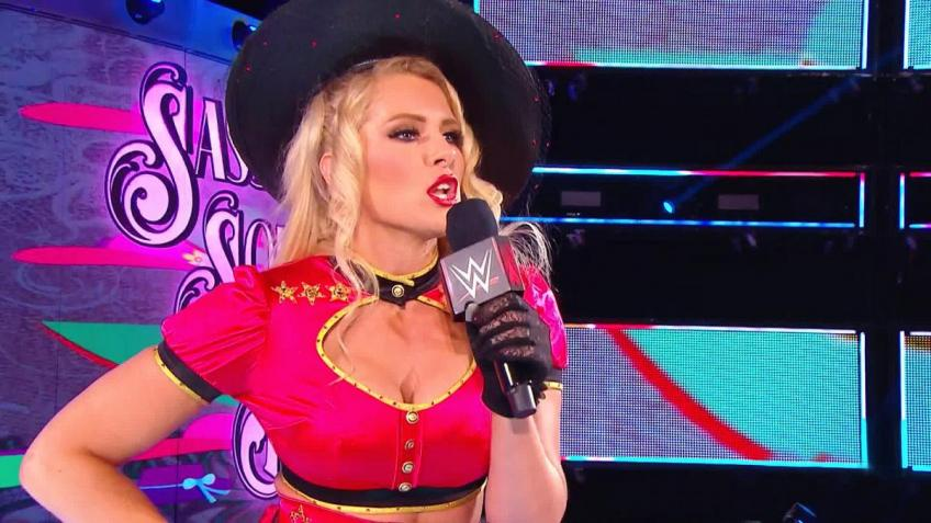 Lacey Evans on Having No Experience