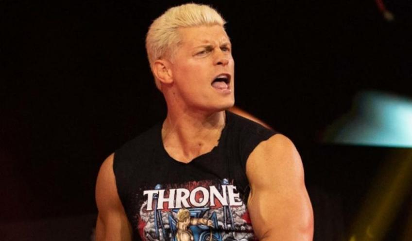Cody Rhodes on his AEW World title match against Chris Jericho