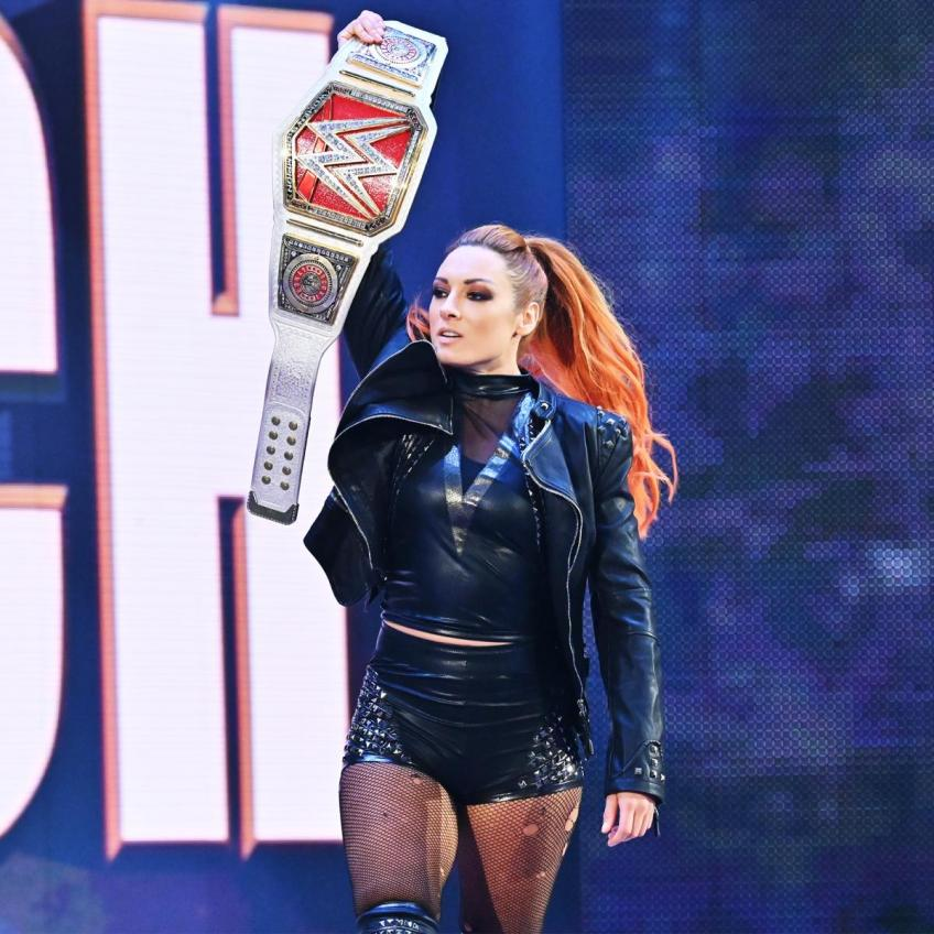Becky Lynch on Staying on Top