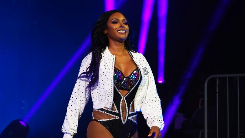 Brandi Rhodes talks about Riho